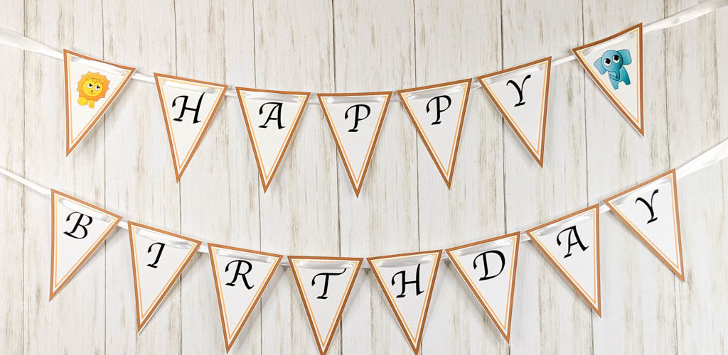 It is an image of Happy Birthday Banner Printable inside green